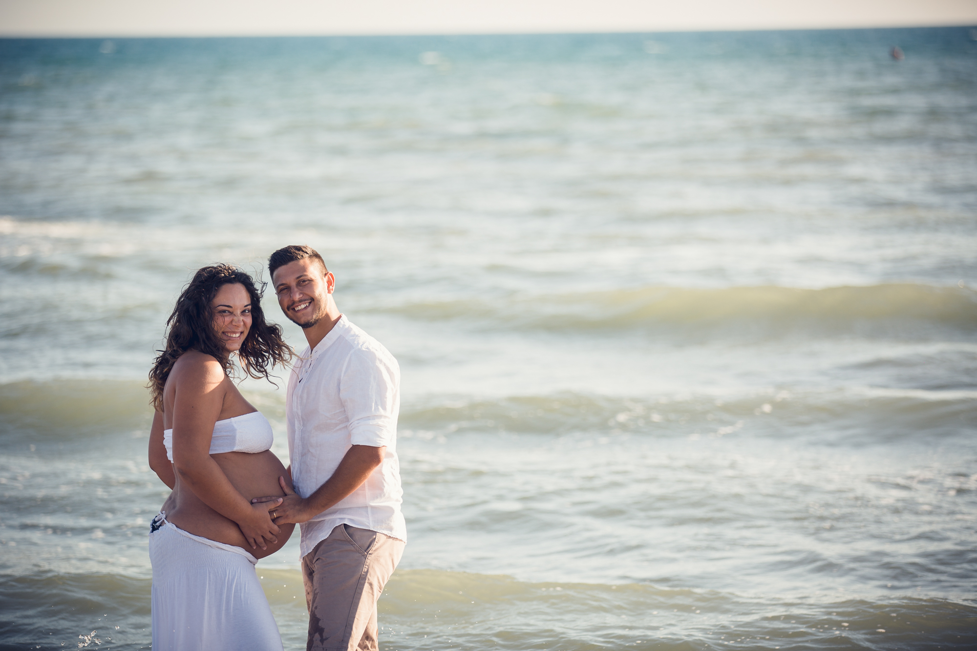 shooting maternity al mare